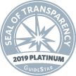 Guide Star Seal 2019 platinum