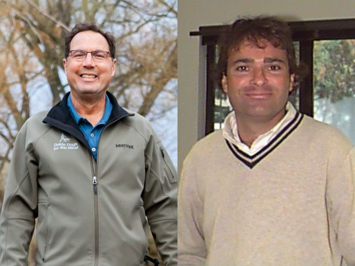 Side by side photos of GDB Field Service Managers Charles Nathan and Chuck Farrugia.