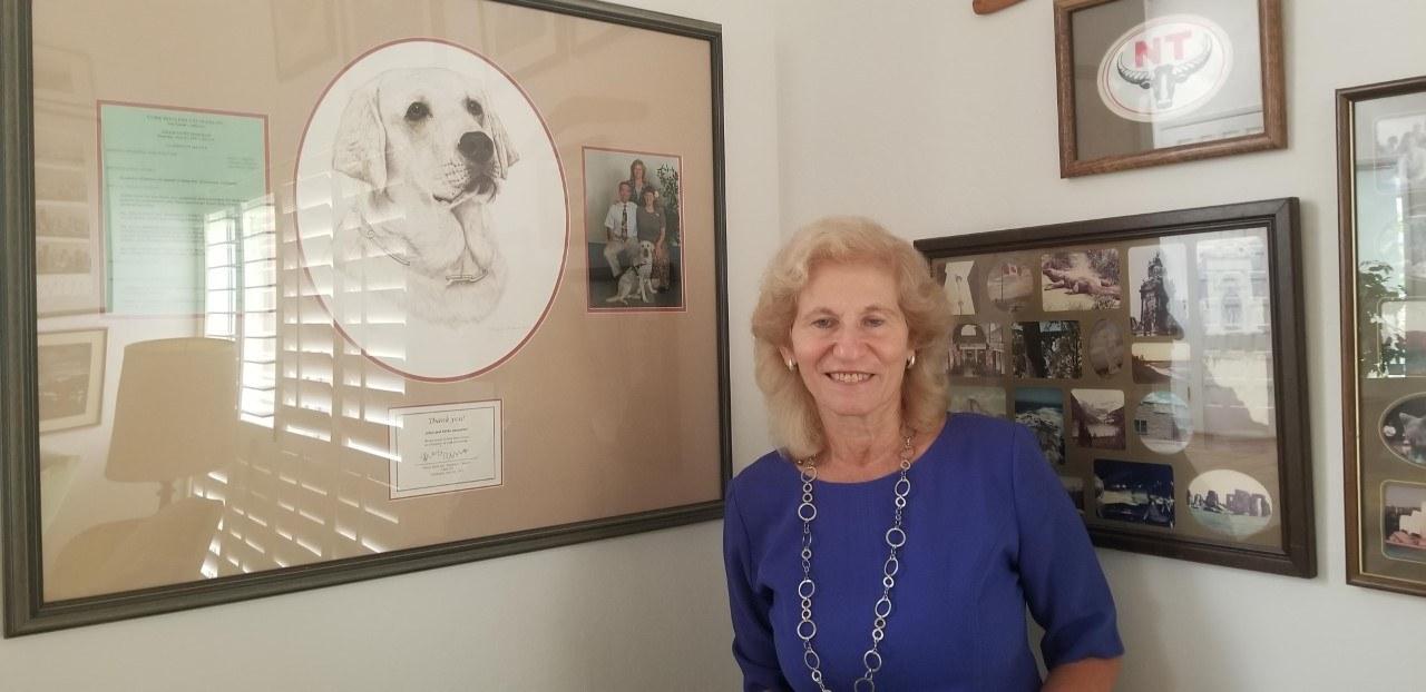 Erika Ammirati in her home
