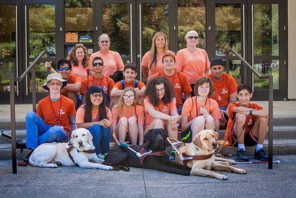 A group photo of participants at Camp GDB.