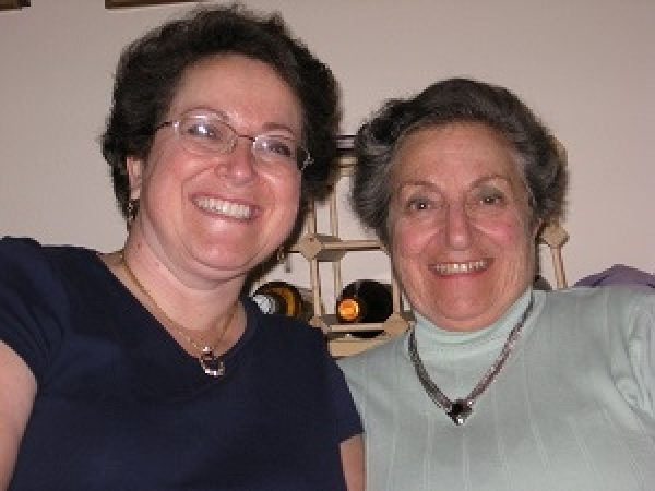 Legacy Society members Donna and her mother Marjorie